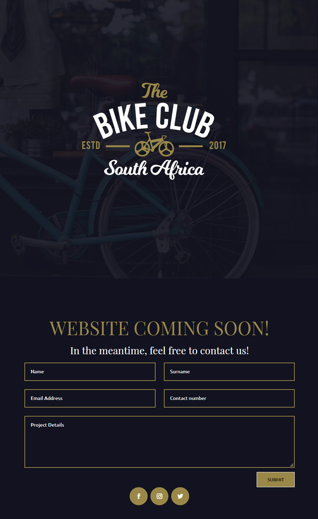 Wordpress bike club theme